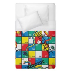 Snakes And Ladders Duvet Cover (single Size)