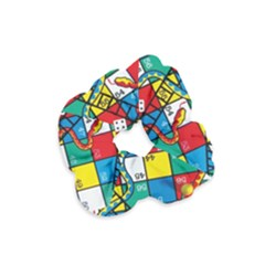Snakes And Ladders Velvet Scrunchie