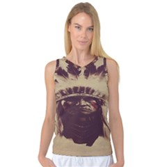 Indian Women s Basketball Tank Top by BangZart