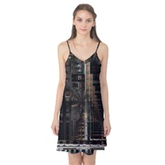 Blacktechnology Circuit Board Electronic Computer Camis Nightgown