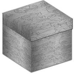 Embossed Rose Pattern Storage Stool 12   by BangZart