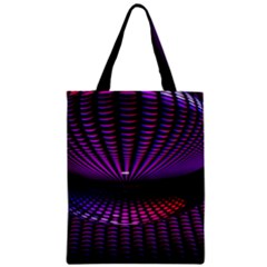 Glass Ball Texture Abstract Zipper Classic Tote Bag