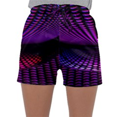 Glass Ball Texture Abstract Sleepwear Shorts