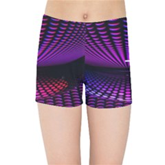 Glass Ball Texture Abstract Kids Sports Shorts