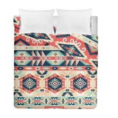 Aztec Pattern Duvet Cover Double Side (full/ Double Size) by BangZart