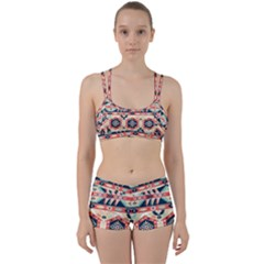 Aztec Pattern Women s Sports Set