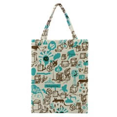 Telegramme Classic Tote Bag by BangZart