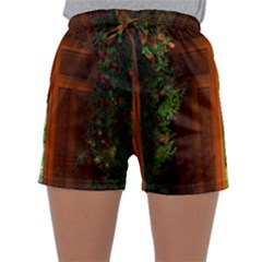 Beautiful World Entry Door Fantasy Sleepwear Shorts