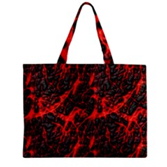 Volcanic Textures  Zipper Mini Tote Bag