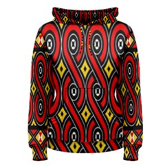 Toraja Traditional Art Pattern Women s Pullover Hoodie by BangZart