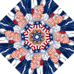 Independence Day United States Of America Golf Umbrellas by BangZart