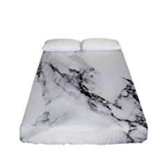 Marble Pattern Fitted Sheet (full/ Double Size)