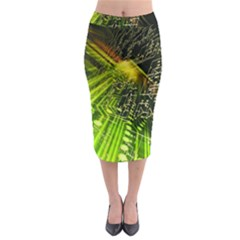 Electronics Machine Technology Circuit Electronic Computer Technics Detail Psychedelic Abstract Patt Midi Pencil Skirt by BangZart