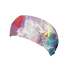 Clouds Multicolor Fantasy Art Skies Yoga Headband