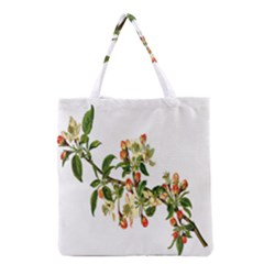 Apple Branch Deciduous Fruit Grocery Tote Bag by Nexatart