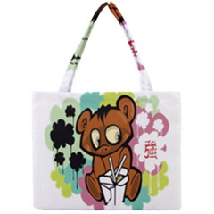 Bear Cute Baby Cartoon Chinese Mini Tote Bag