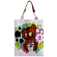 Bear Cute Baby Cartoon Chinese Classic Tote Bag by Nexatart