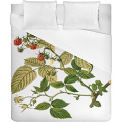 Berries Berry Food Fruit Herbal Duvet Cover (california King Size)