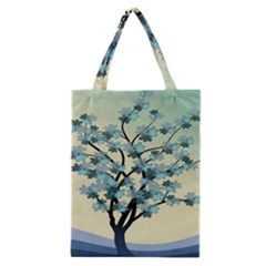 Branches Field Flora Forest Fruits Classic Tote Bag by Nexatart