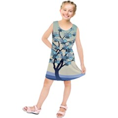 Branches Field Flora Forest Fruits Kids  Tunic Dress by Nexatart
