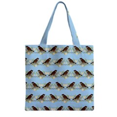 Sparrows Grocery Tote Bag by SuperPatterns