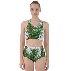 Branch Floral Green Nature Pine Bikini Swimsuit Spa Swimsuit