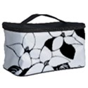 Ecological Floral Flowers Leaf Cosmetic Storage Case View2
