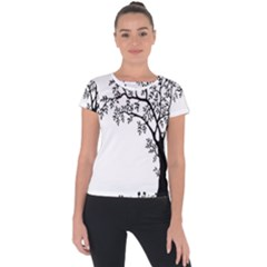 Flowers Landscape Nature Plant Short Sleeve Sports Top  by Nexatart