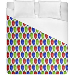 Colorful Shiny Eat Edible Food Duvet Cover (california King Size) by Nexatart