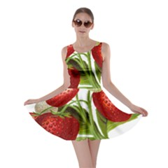 Food Fruit Leaf Leafy Leaves Skater Dress