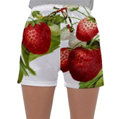 Food Fruit Leaf Leafy Leaves Sleepwear Shorts