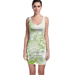 Fruits Vintage Food Healthy Retro Bodycon Dress by Nexatart