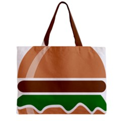 Hamburger Fast Food A Sandwich Mini Tote Bag by Nexatart