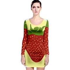 Nature Deserts Objects Isolated Long Sleeve Bodycon Dress by Nexatart