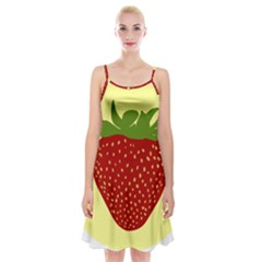 Nature Deserts Objects Isolated Spaghetti Strap Velvet Dress