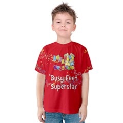 Bf Explorers Red T Shirt Kids  Cotton Tee
