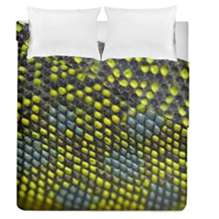 Lizard Animal Skin Duvet Cover Double Side (queen Size) by BangZart