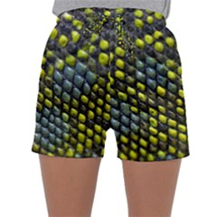 Lizard Animal Skin Sleepwear Shorts