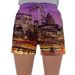 City Night Sleepwear Shorts