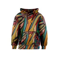 Vivid Colours Kids  Pullover Hoodie by BangZart