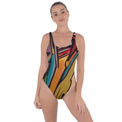 Vivid Colours Bring Sexy Back Swimsuit