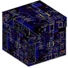 Technology Circuit Board Layout Storage Stool 12   by BangZart