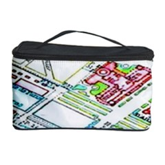 Paris Map Cosmetic Storage Case by BangZart