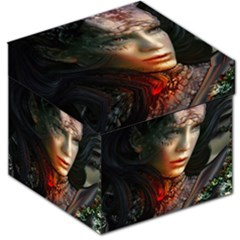 Digital Fantasy Girl Art Storage Stool 12