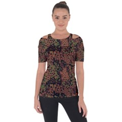 Digital Camouflage Short Sleeve Top