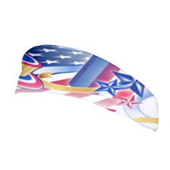 United States Of America Usa  Images Independence Day Stretchable Headband