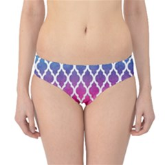 Colorful Rainbow Moroccan Pattern Hipster Bikini Bottoms