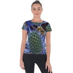 Chihuly Garden Bumble Short Sleeve Sports Top