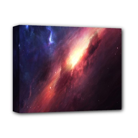 Digital Space Universe Deluxe Canvas 14  X 11