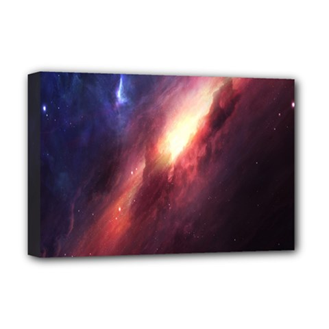 Digital Space Universe Deluxe Canvas 18  X 12